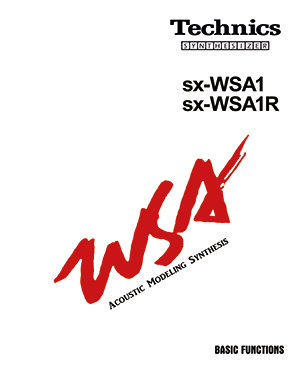 TECHNICS_SX-WSA1_USER_MANUAL_BASIC_FUNCTIONS_COVER.png